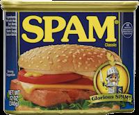 Spam - ultimate survival food