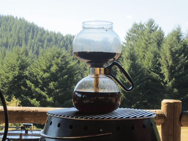 brewing coffee without electriciy