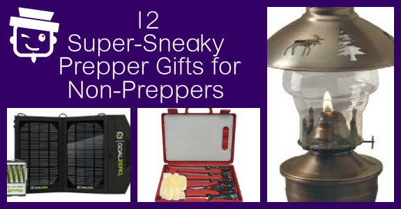 12 Super-Sneaky Prepper Gifts for Non-Preppers