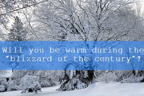 blizzard survival warmth